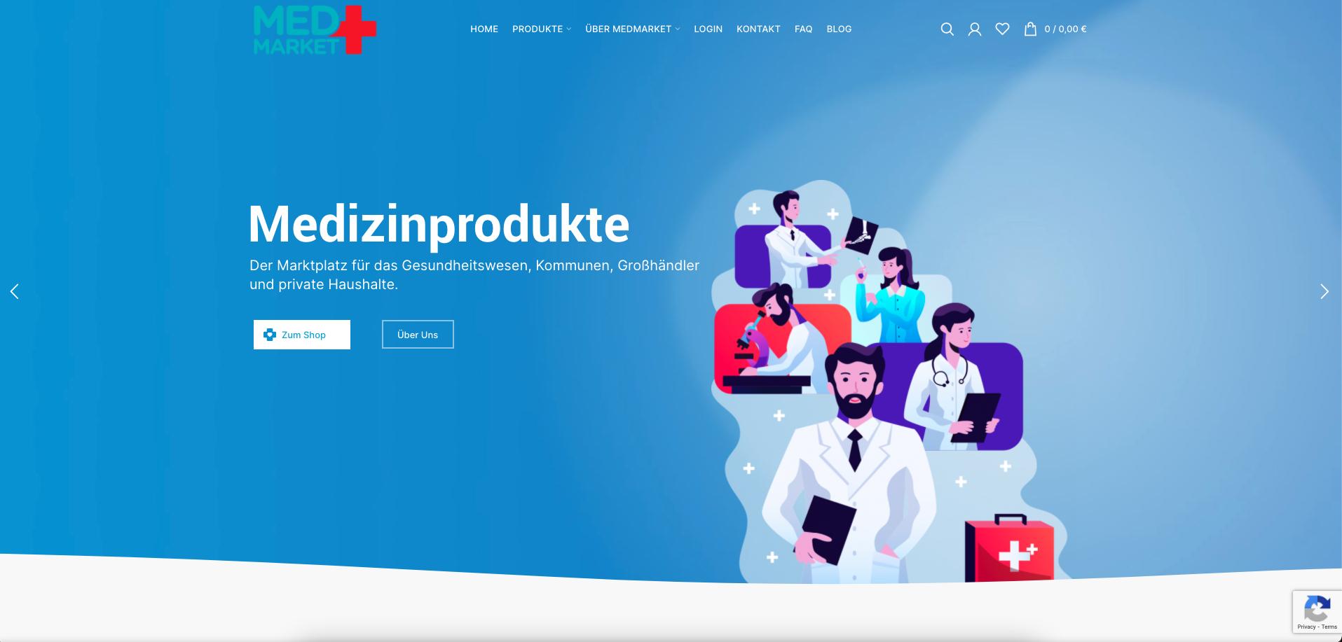 medmarket homepage